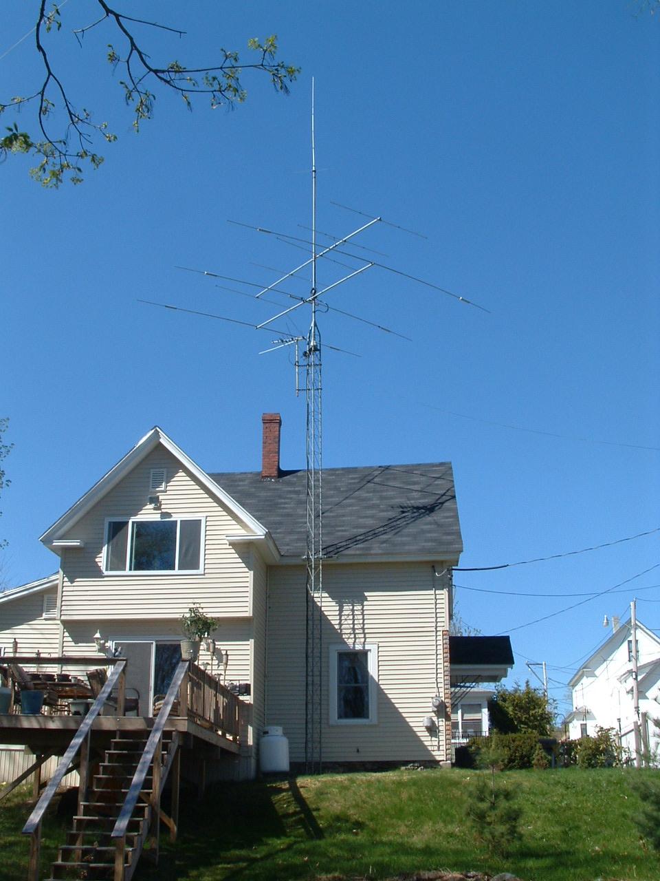 NY1E antenna system: i1wqrlinkradio com
